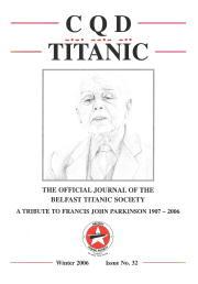 John Parkinson Tribute (Issue 32)